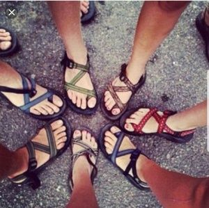 ISO chacos size 8